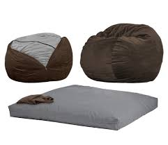 Bean Bag Chair Bed Accessories Chair Converts To Bed Intended For Stylish Sleeper