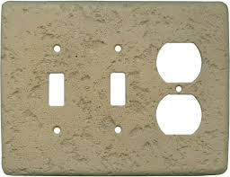 Travertine Switch Plates by Stonique Noce Light Switch Plates Outlet Covers Wallplates