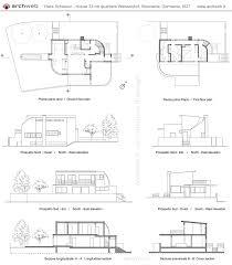94 Best Architecture Hans Scharoun Images On Pinterest Hans - hans scharoun house 33 weissenhof dwg drawings история