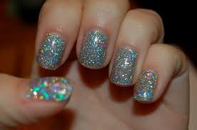 glittery holographic nails pictures photos and images for