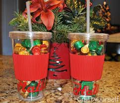 christmas candy gifts personalized tumbler gift idea personalized candy inexpensive