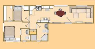 the big 7 squared 480 sq ft shipping container floor plan cozy