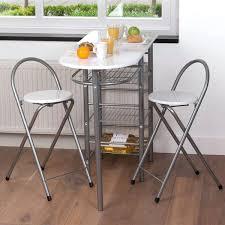 table pour cuisine table pour cuisine ensemble table bar 2 tabourets blancs idee