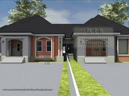 Modern Three Bedroom House Plans - fantastic 3 bedroom house design in nigeria youtube current three