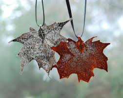 real maple leaf etsy