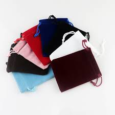 wedding gift jewelry 10pcs lot 7x9cm velvet bags small jewelry pouch bag christmas