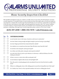 Self Home Inspection Checklist by Door Checklist U0026 Door Inspection Checklist Door Inspection