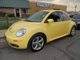 volkswagen yellow yellow volkswagen beetle in colorado for sale used cars on