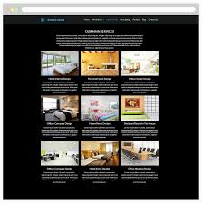 real estate website design built on wordpress with our custom this is a page dedicated to introduce information about your interior design company besides present its mission vision and history to everybody through