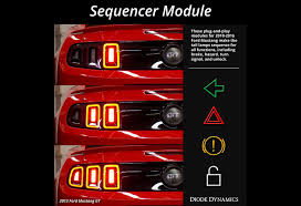 sn95 mustang tail lights diode dynamics mustang taillight sequencer module 10 16 all 991
