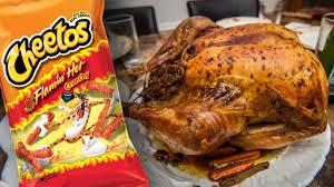 spice thanksgiving feast cheetos turkey