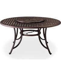 cast aluminum dining table spring savings are here 50 off folwell 60 cast aluminum dining