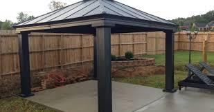 Garden Treasures Canopy Replacement by Pergola 10x10 Canopy Cover Replacement Garden Winds Gazebo