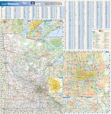 Mn State Parks Map Minnesota State Reference Map From Geonova