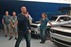 fast and furious cars vin diesel is that the dodge challenger demon in this vin diesel fast