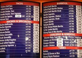 taco bell menu prices updated for 2017