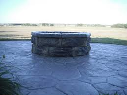 Fire Pit Kit Stone by 30 U2033 Fire Pit Kits Natural Concrete Products