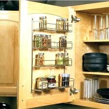 cabinet door spice rack inside cabinet door spice rack spice rack inside cabinet marvelous