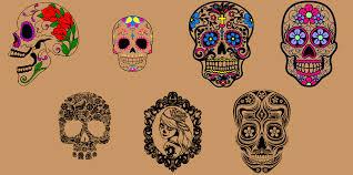 my sims 3 blog el dia de los muertos sugar skull tattoos by panicsims