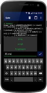terminal emulator apk free qute command console terminal emulator android apps on