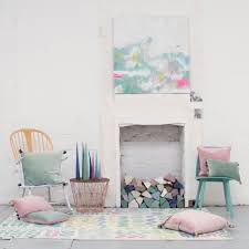 Cushions Velvet Blush Velvet Tassel Cushion Bluebellgray