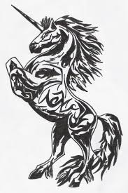 47 gothic unicorn tattoos with meanings black and grey gothic unicorn tattoo design