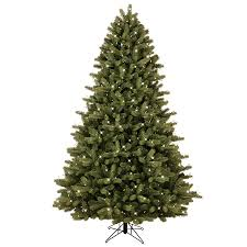 shop ge 7 5 ft pre lit colorado spruce artificial tree