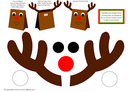 6 best images of free printable christmas crafts christmas box