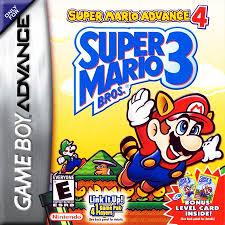 play super mario advance 4 super mario bros 3 nintendo game boy