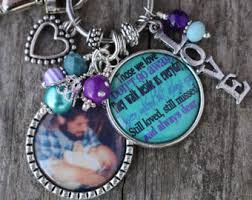 in memory of keychains grief jewelry etsy