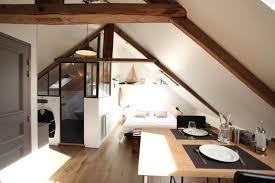 amenagement chambre comble perspective vers la chambre combles aménagés façon loft journal