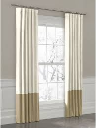 Two Tone Curtains Curtain Bath Outlet Geneva Two Tone Grommet Curtain Panel