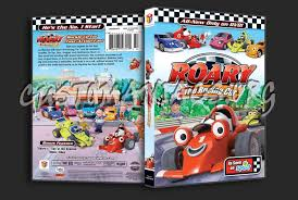 roary racing car dvd cover dvd covers u0026 labels