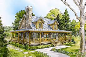 country home house plans wrap around porches houseplans