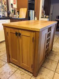bespoke oak kitchen island waterhall joinery ltd hertfordshire