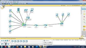 membuat jaringan lan dengan cisco packet tracer simulasi jaringan paket tracer ebhichan