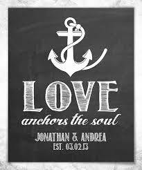 Hypolita Love Anchors The Soul - look at this love anchors the soul personalized print on zulily