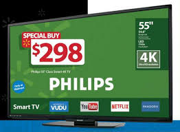walmart led tv black friday dailytech phillips 55 u0027 4k smart tv u2013 is this really a deal we