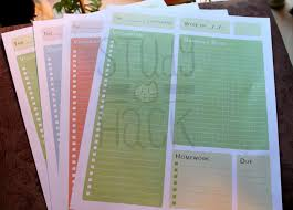 free note organizer template and etsy shop study hack