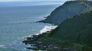 Oregon Beaches Map by Cape Perpetua Oregon Marine Reserves