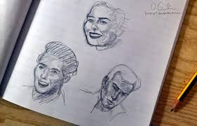 5 minute sketches by limona1 on deviantart