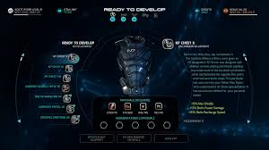 mass effect andromeda guide best armor how to change your gear