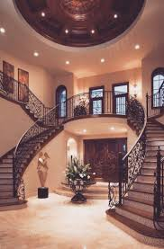 home interior and design twin staircase design is a classic that never fails in the grand