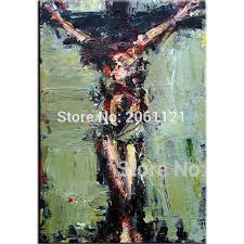 aliexpress com buy hand painted jesus oil painting christ good