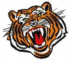 bengal tiger 4 embroidery design bengal tiger bengal and