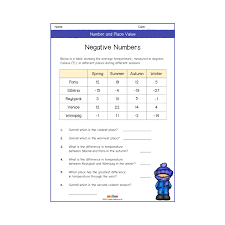 number and place value year 5 worksheets primary learning