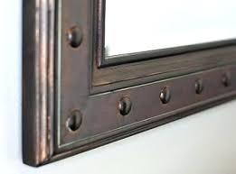 Antique Bronze Bathroom Mirrors Rubbed Bronze Mirror Brokenshaker