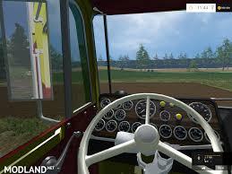 2017 kenworth cabover kenworth k100 cabover mod for farming simulator 2015 15 fs ls
