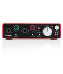 Best Bedroom Audio Interface Focusrite Scarlett 2i2 2nd Gen Usb Audio Interface Buy