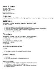 resume exles for jobs with little experience needed job resume template for high student crafty design resume